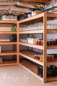 Tutorial - build inexpensive basement storage (or garage shelves)