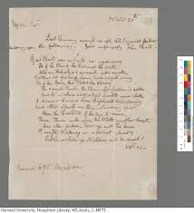 correspondence the keats letters project keats to haydon 20 nov 1816 john keats collection 1814 1891 ms keats 1 3 houghton library harvard university click for full size image