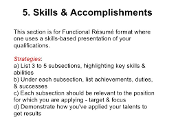 Resume Sample Resume Skills And Accomplishments achievements examples for resume  key skills sample cv .