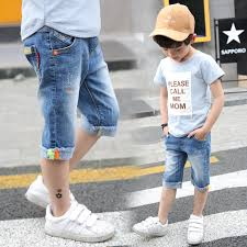 5 To 14 Years <b>Boys</b> Denim <b>Shorts 2019 Boys Shorts Summer</b> Baby ...