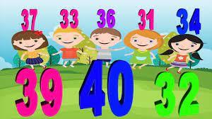 Học Tiếng Anh | Bé tập đếm số từ 01 đến 100