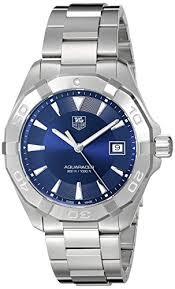 tag heuer men s swiss quartz stainless steel casual watch color tag heuer men s swiss quartz stainless steel casual watch color silver toned model way1112 ba0928 amazon co uk watches