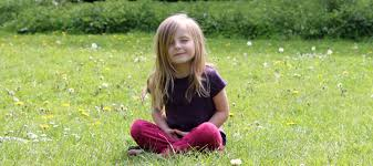 Image result for kids meditating