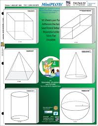 Geometry Adhesive Backed Graphing Kit Post It Note Sticky Note Graph Paper For Geometry