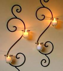 wall mount candle holder bold design wall hanging candle holders collectible metal tealight holder decorative