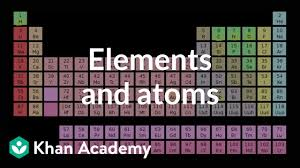 Elements And Atoms Video Khan Academy