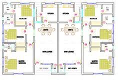 House Plans For 2 Bedroom Semi Detached Cottages   Szukaj W Google