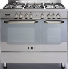 New World NW90GTDO Stainless Steel 90cm Gas Range Cooker