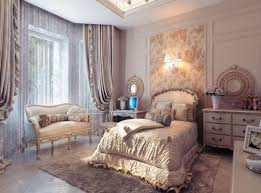 interior design ideas bedroom vintage. Bedroom Vintage Rustic Decor Large Glass Fixed Windows White Brown Persian Pattern Bedding Mounted Low Wooden Interior Design Ideas