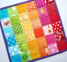 patchwork rainbow rug for kids floor room decor