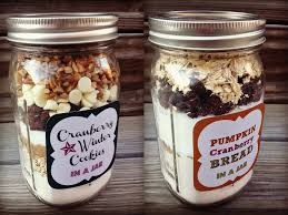 jar mix recipes gifts in jars cookie mix in a jar holiday gift