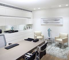 comfortable home office. Reassuring Soft Interior With Beach Theme: Comfortable Home Office In The  Sea Shell Residence With · « Comfortable Home Office