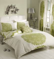 retro bedroom ideas with light green white bedding sets erfly wall decorations ideas erfly