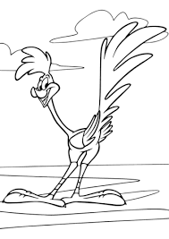 Small Picture Looney Tunes Road Runner coloring page Free Printable Coloring Pages