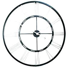 wall clock and thermometer extra large outdoor exterior clocks
