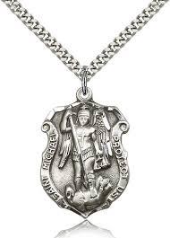 sterling silver st michael archangel