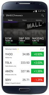 Yahoo Finance Quotes Unique Yahoo Launches Completely Redesigned Yahoo Finance App With Real