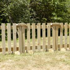Image of: Wood Fence Panels Models