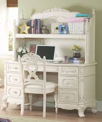 white desk with hutch. Cinderella Youth Writing Desk W/ Hutch From Homelegance (1386-10-11) | Coleman Furniture White With I