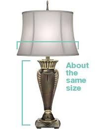 How To Measure Lamp Shade Beauteous Lamp Shades The Ultimate Buyer's Guide LampsUSA