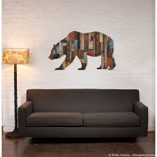 neoteric californium wall decor 27 best love image on bear in the wood metal art