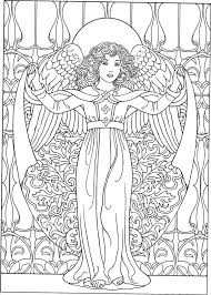 Angel Coloring Pages Coloringrocks