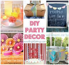 diy party decor the bright ideas blog