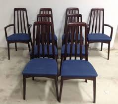 mid century modern dining room furniture. Set Of 8 Swedish Modern Rosewood Dining Chairs By Svegards Markaryd Danish Mid Century Room Furniture L