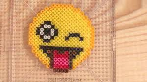 Emoji Perler Bead Patterns Custom Perler Bead Emoji Pattern YouTube