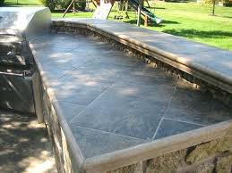 best outdoor ideas on bar fabulous kitchen s countertop options grill kitchens and concrete amazing of