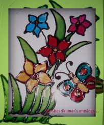 simple glass painting designs galleryhip hippest galleries