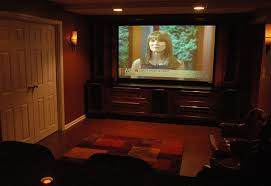 basement home theater room. basement home theater room