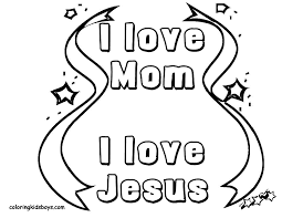 Coloring Pages Of Moms Stuff