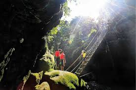 tourism puts bicol ahead among regions inquirer news the quitinday underground river and falls in jovellar town in albay are among the hidden gems