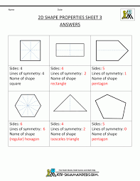 Shape Worksheets For First Grade - Checks Worksheet
