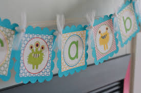 Monster Inc Baby Shower Decorations Little Monster Baby Shower Baby Bash Its A