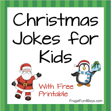 Christmas Light Puns Hilarious Christmas Jokes For Kids Frugal Fun For Boys And
