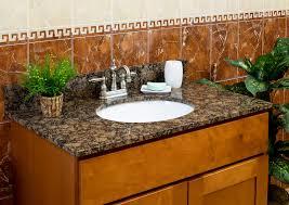 61 x 22 baltic brown granite vanity top 4 spread