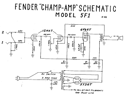 amp wiring schematic rv wiring diagram for amps rv wiring diagrams fender champ f wiring diagram my fender champ vintage amps fender champ 5f1 schematic