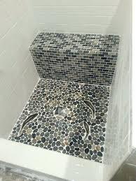 pebble tile usg backsplash ideas shower floor quick guide beginners mosaics pebble tile s flooring ideas shower floor problems