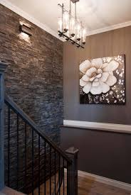 Stone Accent Wall.