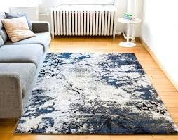 splash blue grey modern geometric brush soft plush shed free area rug and crosier light blue grey area rug