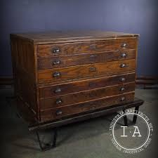 Convert Cabinet To File Drawer Vintage Industrial 6 Drawer Modular Hamilton Flat File Blueprint