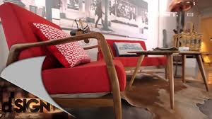 Dsign Red vintage furniture retro New York