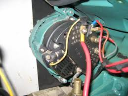 alternator wire help the make model also be marked on the alternator mine is a valeo and i think it is about 55a