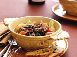 Lamb Stew Recipe Lamb Stew With Swiss Chard And Garlic Parsley Toasts Recipe