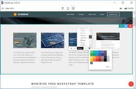 Wysiwyg Mobile Website Builder