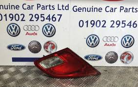 Astra Lighting Limited Vauxhall Astra J 2015 Rear Tailgate Light Genuine Item With Bulbs Passenger Side