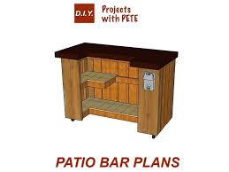 how to build a backyard bar plans bars and in patio making your own outdoor