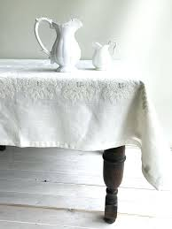 white linen tablecloth 108 inch round 70 tablecloths bulk